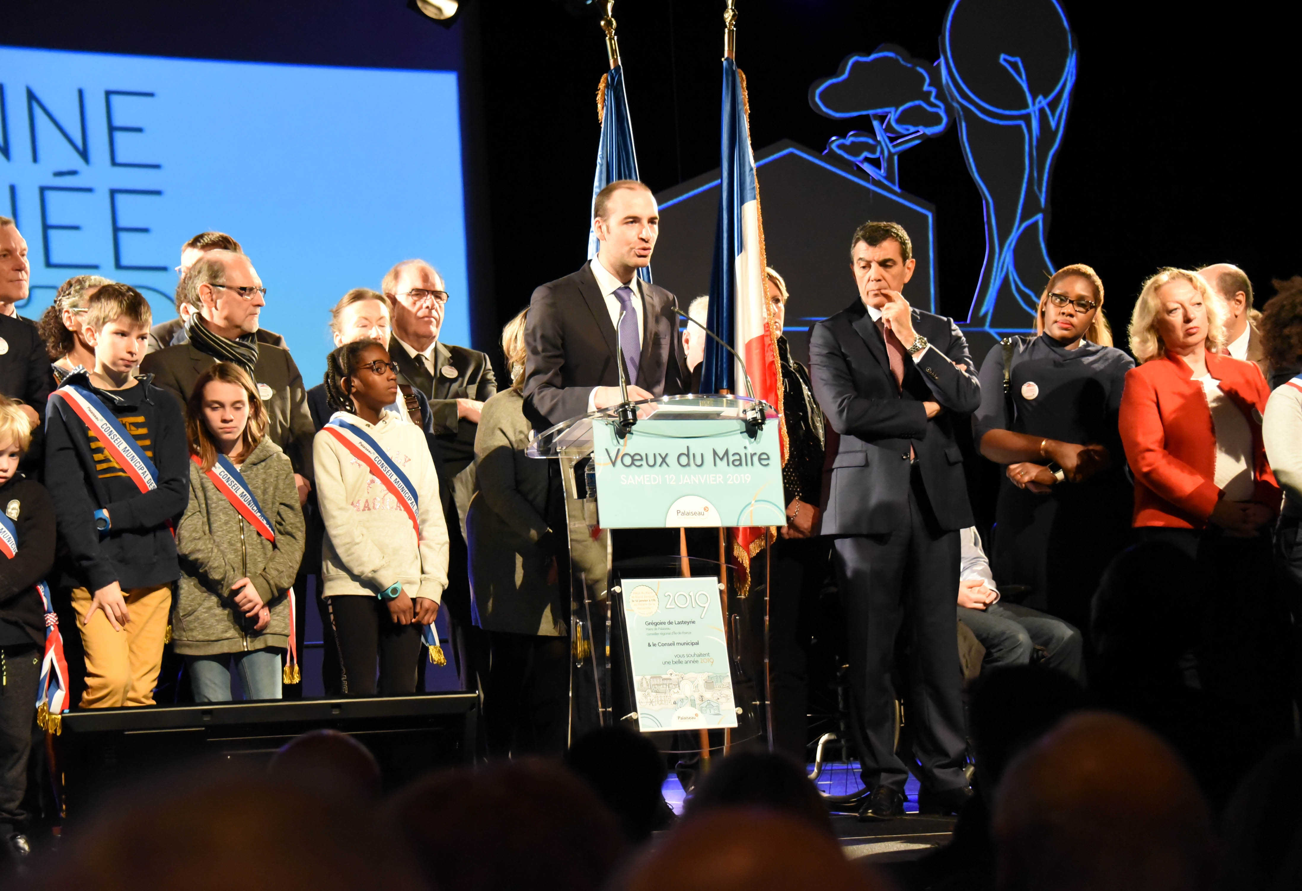 Mairie de Palaiseau – Vœux du maire à la population du 12 janvier 2019