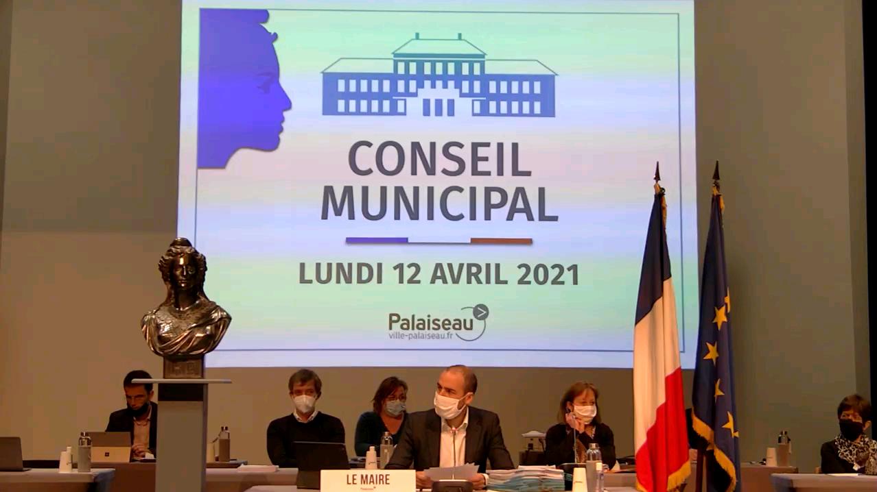 Mairie de Palaiseau - Conseil Municipal du 12 avril 2021