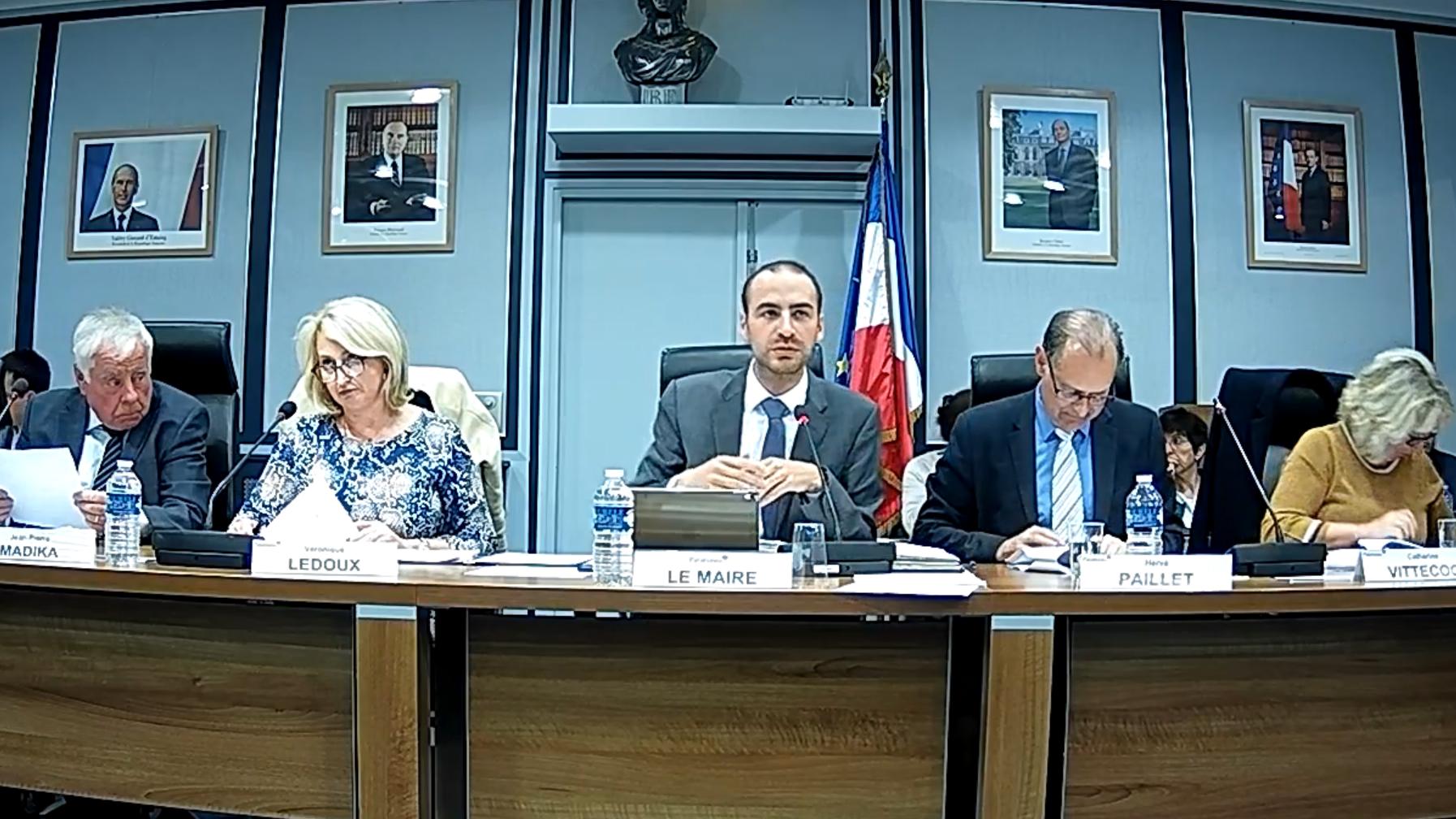 Mairie de PALAISEAU - Conseil Municipal du 24 Septembre 2018
