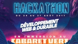Lancement du premier Hackathon en immersion au Cabaret Vert !