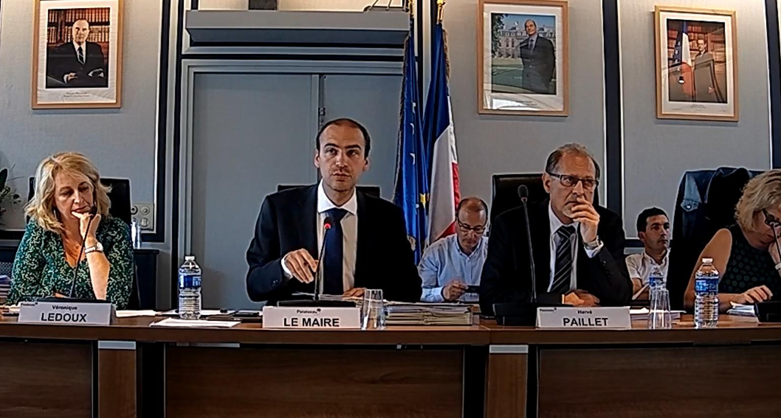 Mairie de PALAISEAU - Conseil Municipal du 25 juin 2018