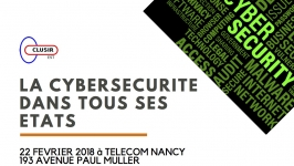 Journée du CLUSIR à Telecom Nancy - Matin