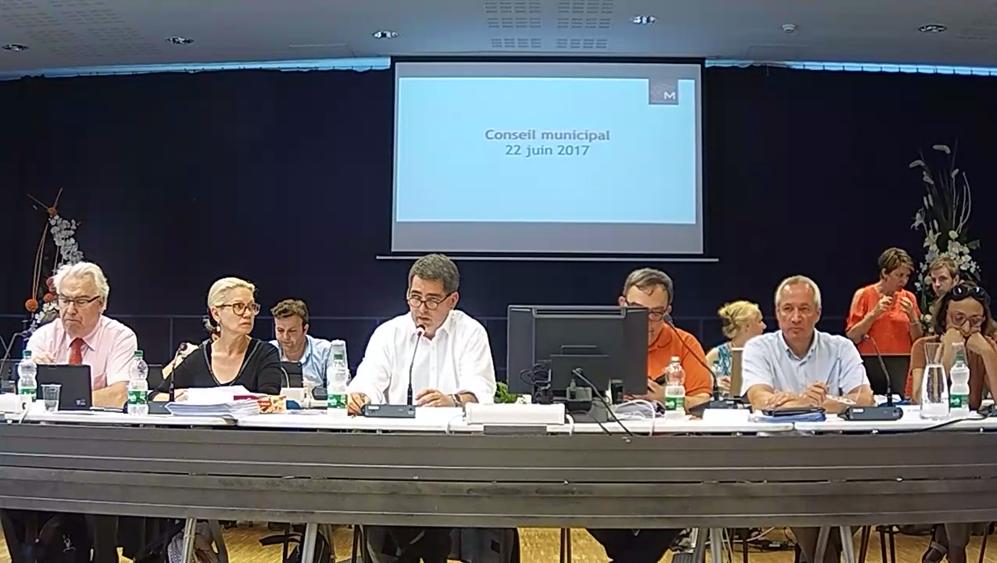 Ville de Mulhouse - Conseil Municipal du 22 juin 2017