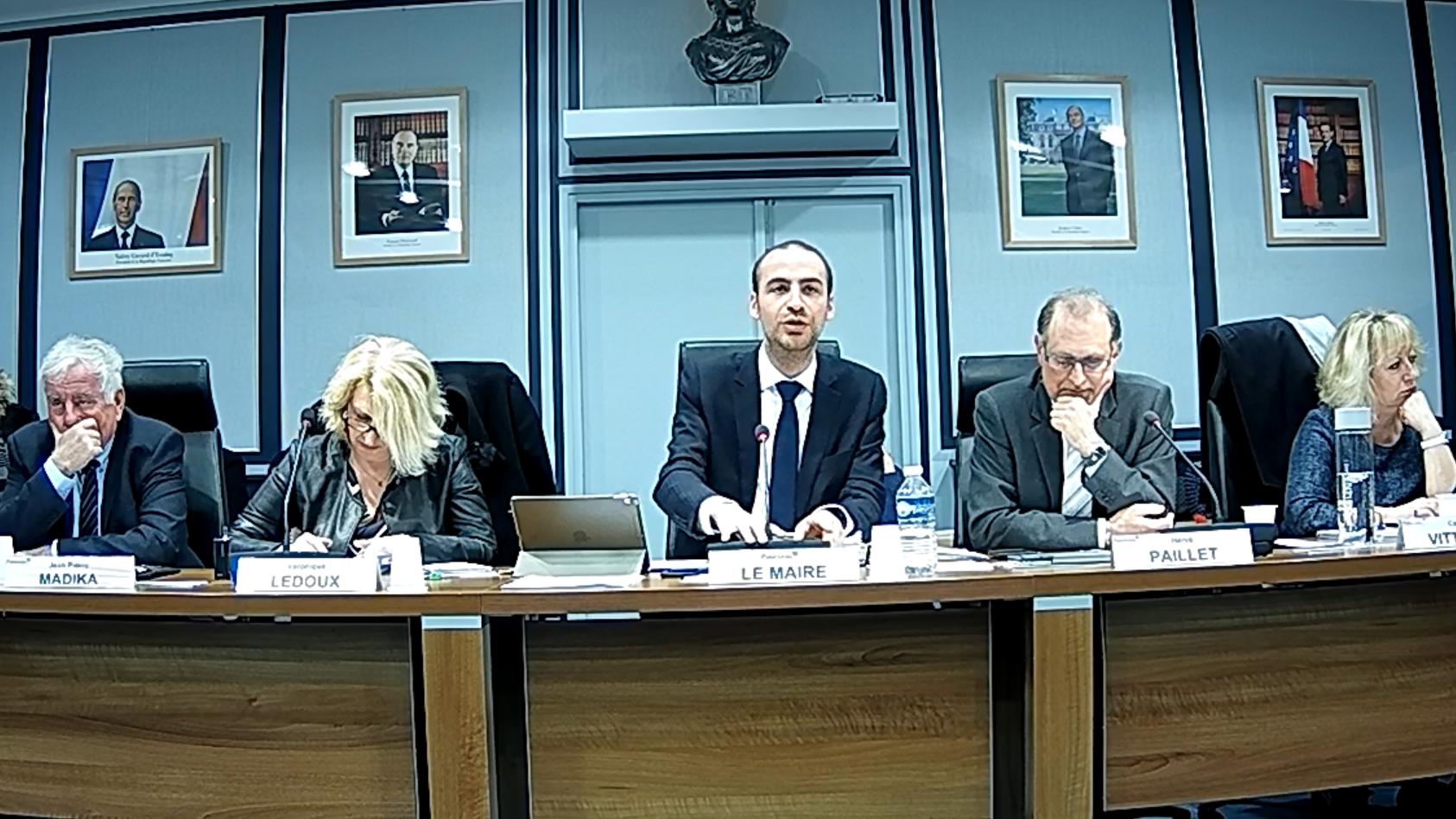 Mairie de PALAISEAU - Conseil Municipal du 19 mars 2018