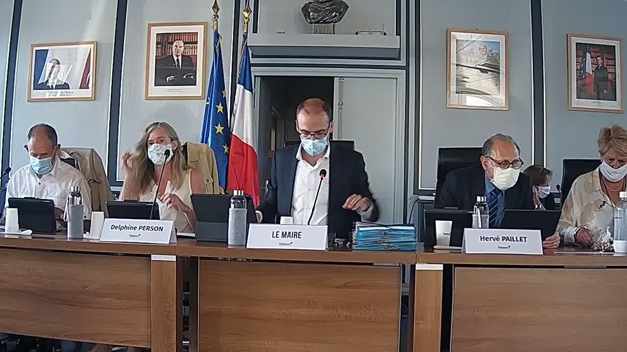 Mairie de Palaiseau - Conseil Municipal du 20 juillet 2020