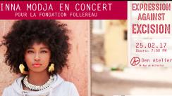 Concert Inna MODJA - Expression against excision - à Den Atelier