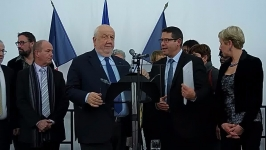 Voeux 2017 de Bertrand KLING , maire de MALZÉVILLE