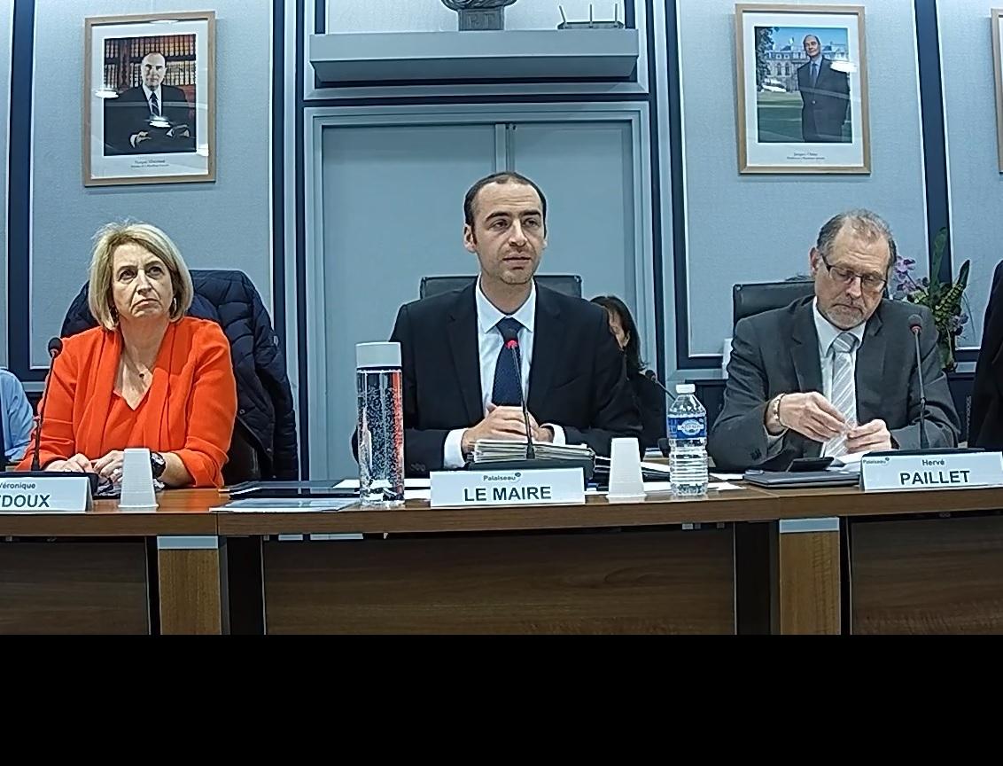 Mairie de PALAISEAU - Conseil Municipal du 18 décembre 2017