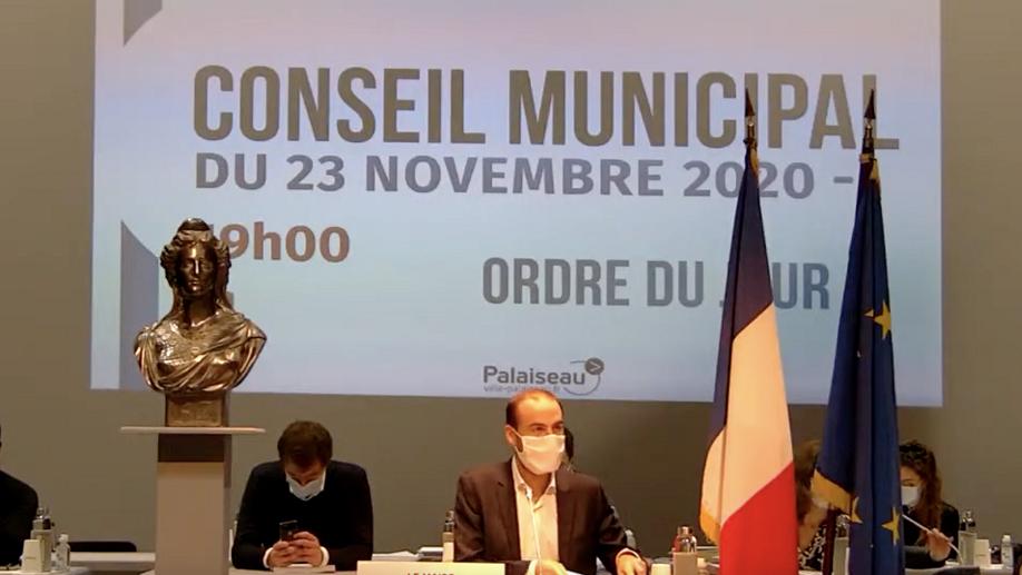 Mairie de Palaiseau - Conseil Municipal du 23 novembre 2020